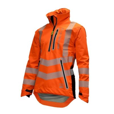 Arbortec Waterproof Smock Hi Vis orange